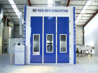 Truck and Bus Spray Booths